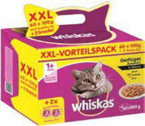Whiskas Katzenfutter XXL-Vorteilspack