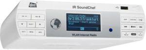 dnt IR SoundChef WLAN Internetradio für Küche oder Werkstatt
