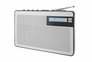 UKW/DAB(+) Radio Digitalradio mit Kopfhöreranschluss Dual DAB 82