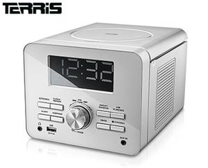 TERRIS CD-Uhrenradio
