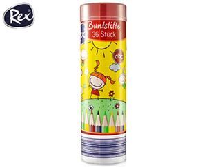 Rex® Buntstifte, 36Stück