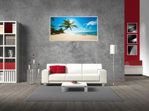 MAUK Infrarot Wandheizung Palmenstrand 300 W