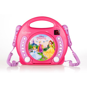 Lexibook Karaoke CD-Player, Princess