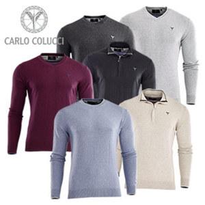 Herren Pullover oder-Troyer 95 % Baumwolle/5 % Cashmere, Größe: S - XXL, je