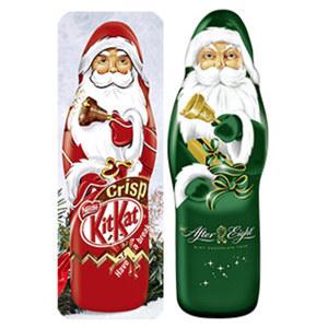 Nestle Kitkat, After Eight Weihnachtsmann oder Nestle Smarties Klapper Klaus jedes 85-g-Stück