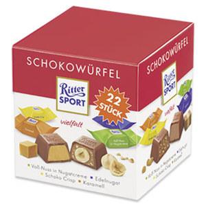 Ritter Sport Schokowürfel versch. Sorten, jede 176-g-Packung