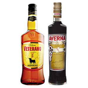 Averna Amaro, Osborne Veterano oder 103 29/30/30 % Vol.,  jede 0,7-l-Flasche