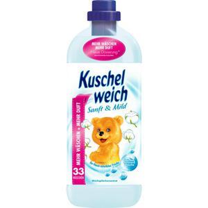 Kuschelweich Weichspülerkonzentrat sanft & mild 33 WL 0.04 EUR/1 WL