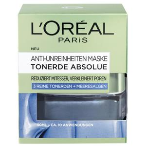 L´Oréal Paris Anti-Unreinheiten-Maske Tonerde Absolu 15.98 EUR/100 ml