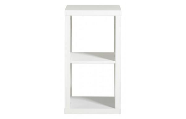 2er regal oskar wei hochglanz ca 42 x 78 x 35 cm von poco einrichtungsmarkt ansehen. Black Bedroom Furniture Sets. Home Design Ideas