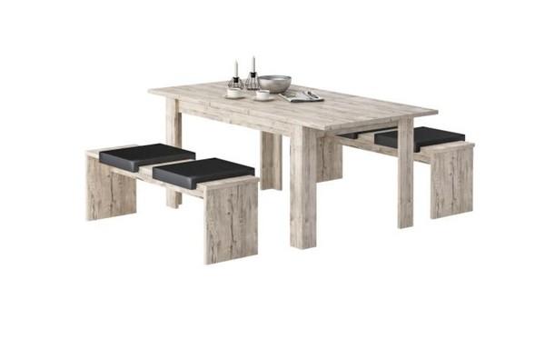 Tischgruppe Sylt Sherwood NB 140
