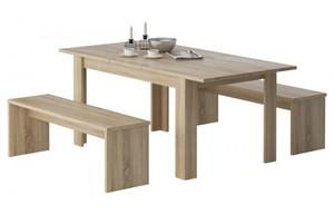 Tischgruppe Sylt Sonoma Eiche NB 140