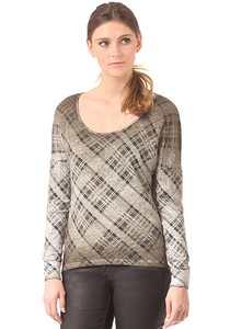 Rich & Royal Queens - Langarmshirt für Damen - Grün