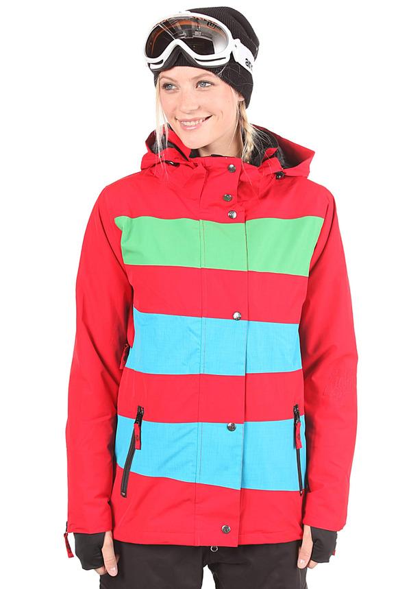 Light Mia - Snowboardjacke für Damen - Rot