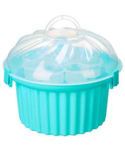 Transportbox - Muffinform, für 24 Muffins - ca. 33 x 33 x 17 cm