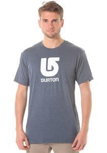 Burton Logo Vertical Slim - T-Shirt für Herren - Blau