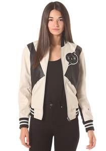 G-Star Block Contrast Bomber Moto PL - Jacke für Damen - Weiß
