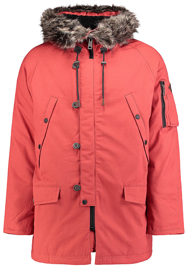662a59971fd3cc O´Neill Cold Conditions - Mantel für Herren - Rot von Planet Sports ...