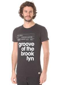 Revolution Tee Print - T-Shirt für Herren - Grau
