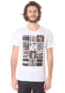 Hurley Universal Corner - T-Shirt für Herren - Weiß