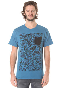 Hurley Snapper A/O Pocket - T-Shirt für Herren - Blau