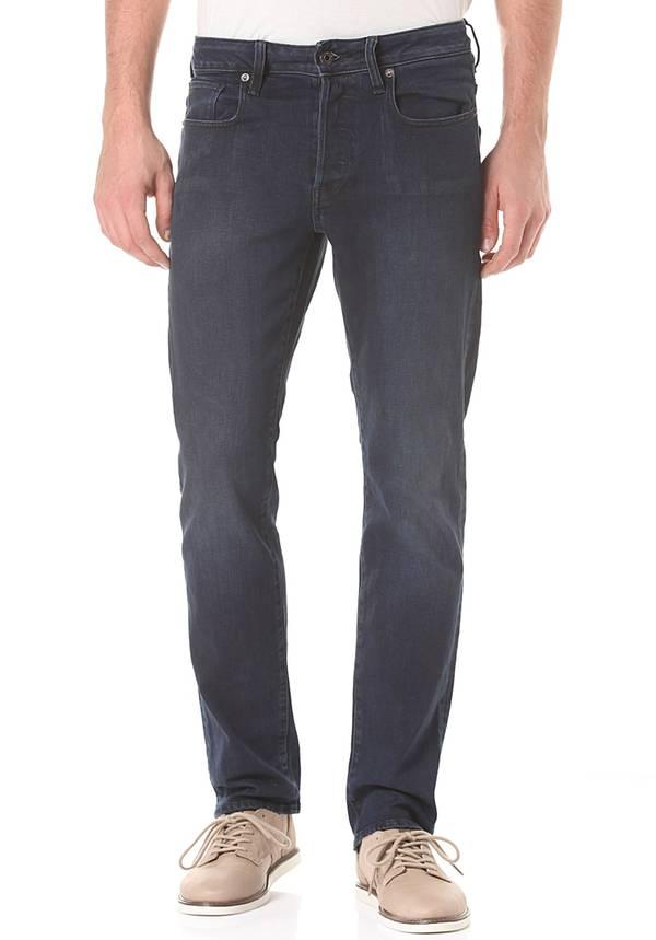 G-Star 3301 Straight Cyclo Stretch - Jeans für Herren - Blau