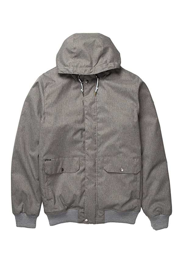 de0258aedffe Billabong Rainy Day - Jacke für Herren - Grau von Planet Sports ...
