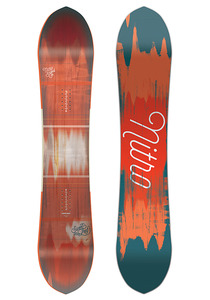 Nitro Sweet Leaf 149cm - Snowboard für Damen - Mehrfarbig