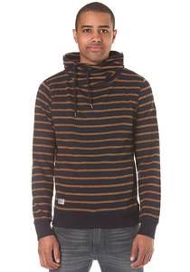 ragwear Hooker Stripes Organic - Sweatshirt für Herren - Blau