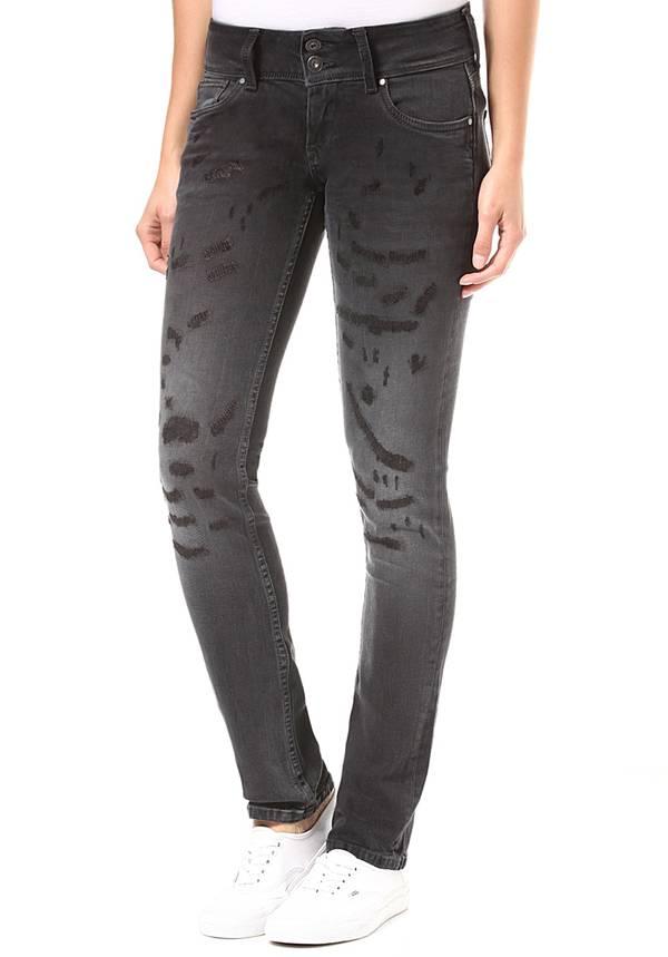 fa7d072b053b Pepe Jeans Vera - Jeans für Damen - Schwarz von Planet Sports ...