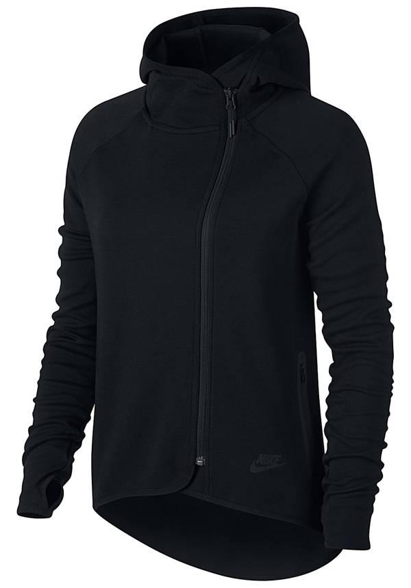 eb75808ceac4ca Nike Sportswear Tech Fleece Cape - Kapuzenjacke für Damen - Schwarz ...
