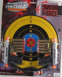 Zielset Swat Force mit Scheibe & Pistolen
