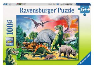 Puzzle Unter Dinosauriern 100 Teile Ravensburger
