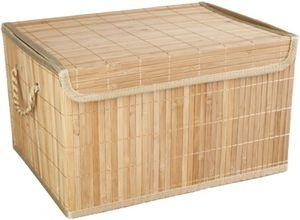 Aufbewahrungskiste - aus Bambus - natur - verschiedene Größen