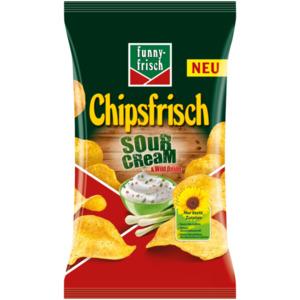 Funny-frisch Chipsfrisch Sour Cream & Wild Onion 175g