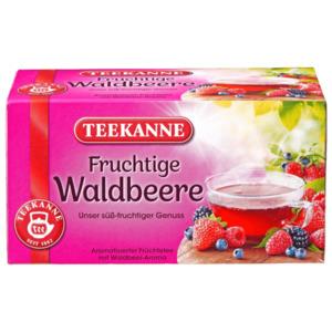 Teekanne Fruchtige Waldbeere 50g, 20 Beutel