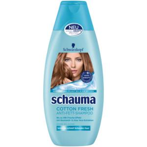 Schwarzkopf schauma Shampoo 4x5 Cotton Fresh 400ml