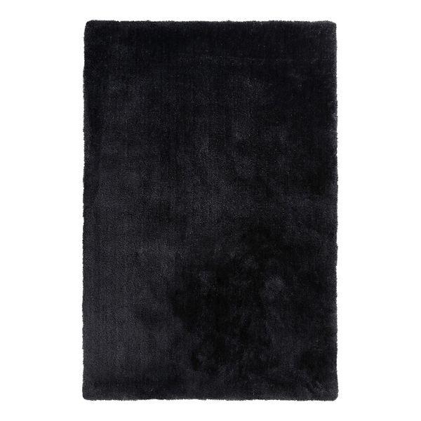 Teppich Relaxx - Kunstfaser - Schwarz - 80 x 150 cm, Esprit