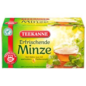 Teekanne Erfrischende Minze 45g, 20 Beutel