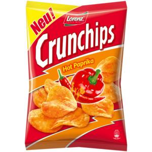 Lorenz Crunchips Hot Paprika 175g
