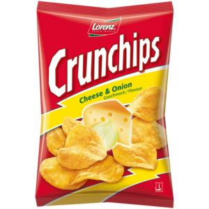 Lorenz Crunchips Cheese+Onion 175g