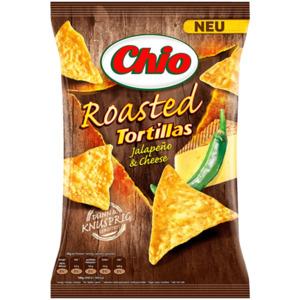 Chio Roasted Jalapeño & Cheese 125g