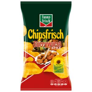 Funny-frisch Chipsfrisch Currywurst 175g