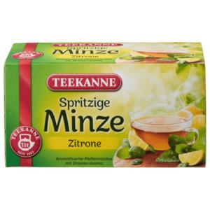 Teekanne Spritzige Minze-Zitrone 30g, 20 Beutel
