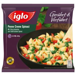 Iglo Penne con Spinaci e Pomodori 450g