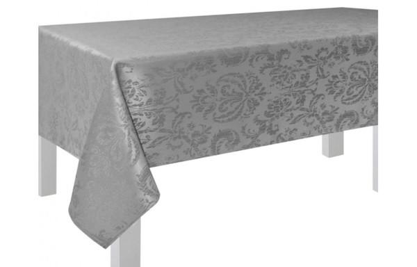 Tischdecke Glasgow silber 130 x 160 cm