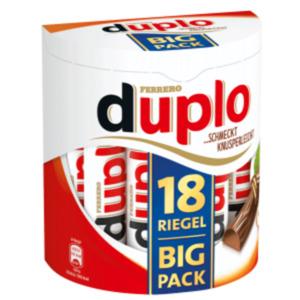 Ferrero Duplo oder Kinder Riegel