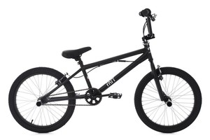 KS Cycling BMX Freestyle 20'' Fatt schwarz