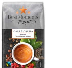BEST MOMENTS Caffè Crema Bio, Fairtrade