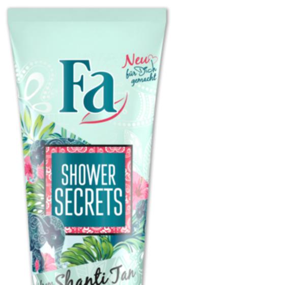 FA Duschcreme Shower Secrets
